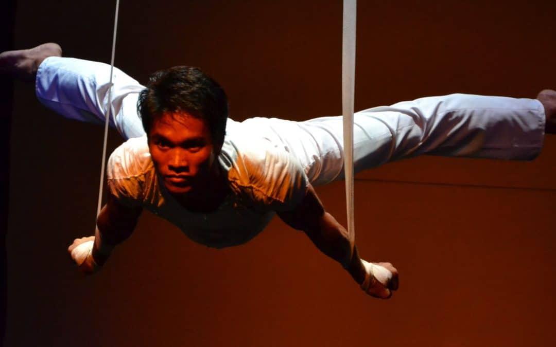Circus revealed: Aerial Straps