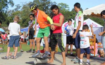 Bike4Kids Kick-off Performance