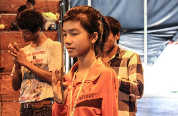 Cambodian Landmine Survivors troupe and Phare