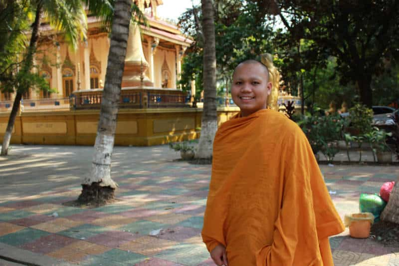 A Monk's life in Cambodia