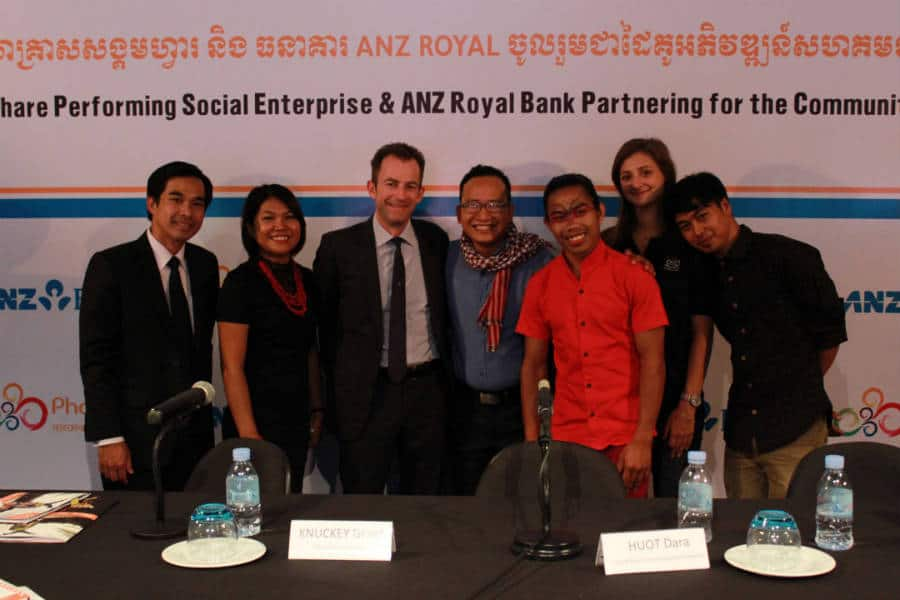 ANZ Royal partners with Phare Performing Social Enterprise