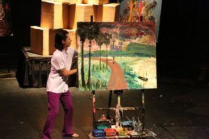 Live paintings of Sokha Show