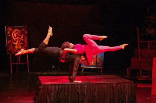 Acrobalance Sokha show