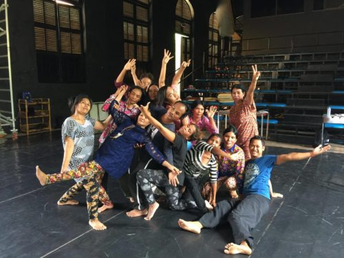 Oxfam _Theatre project
