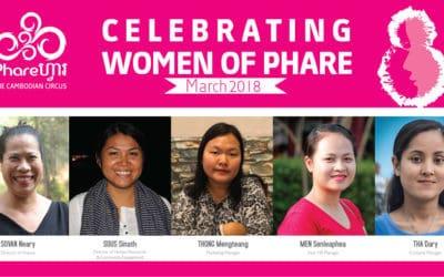 Phare Celebrates International Women's Day 2018