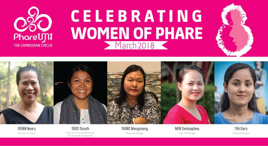 Phare Celebrates International Women's Day 2018
